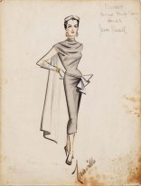Sketch of a Jane Russell costume at http://www.liveauctioneers.com/item/5467750
