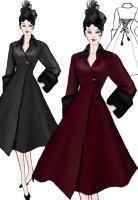 Velvet Swing Coat